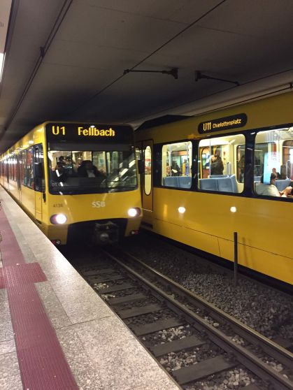 Metro di Stoccarda Gialla