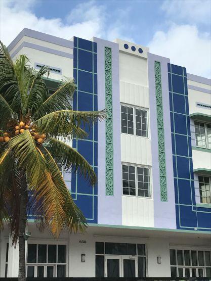 Art Déco - Ocean Drive, South Beach, Miami