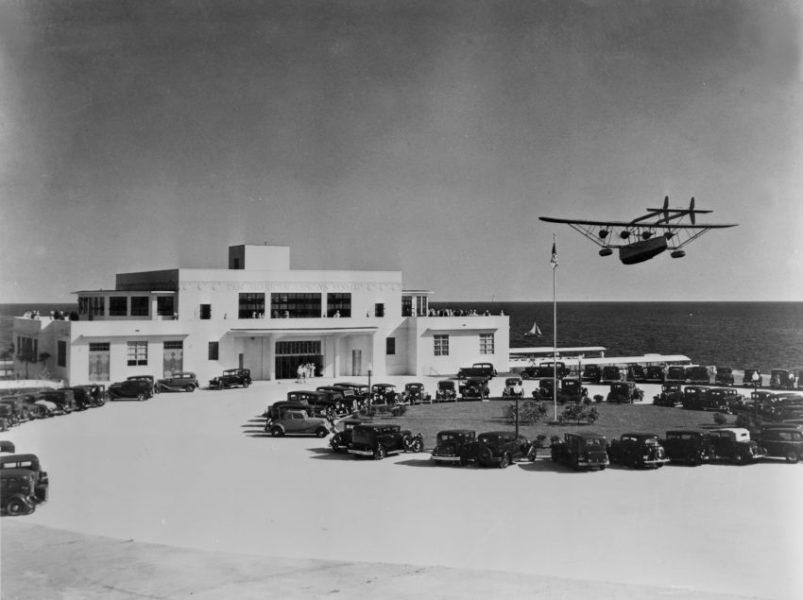 La vecchia sede della Pan American Airlines
