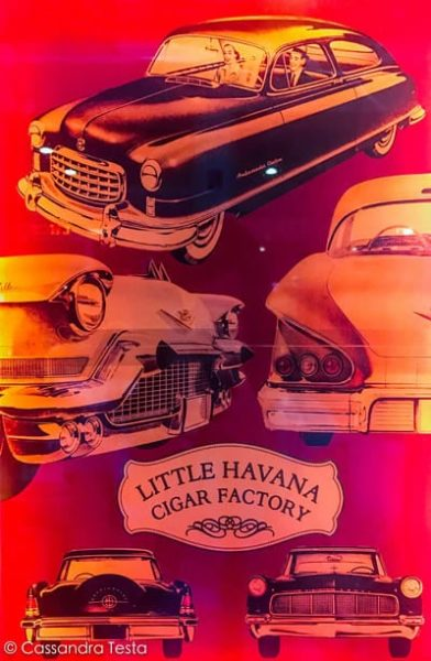Negozio di sigari a Little Havana