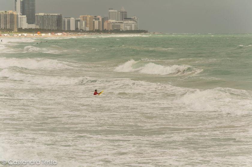 Surf a Miami Beach