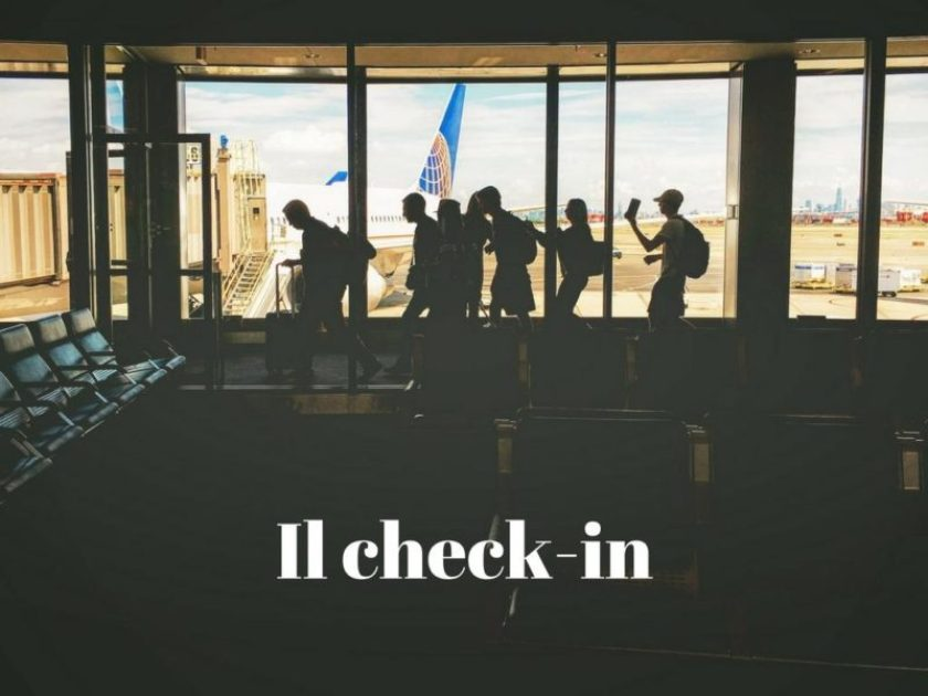 Il check-in