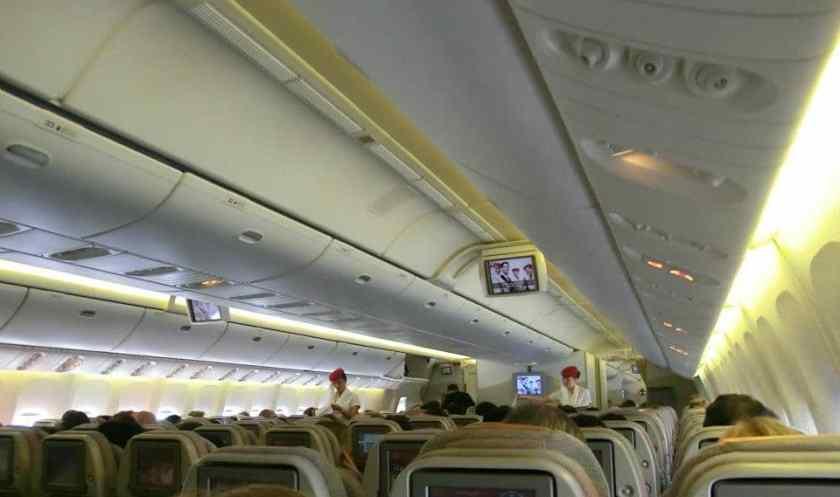 A bordo di Emirates