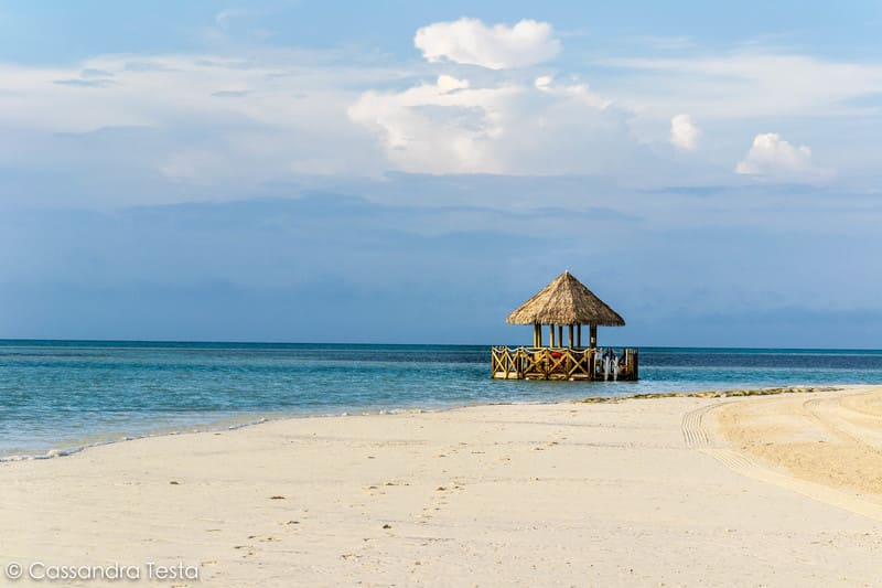 Bar nell'Oceano a Cococay
