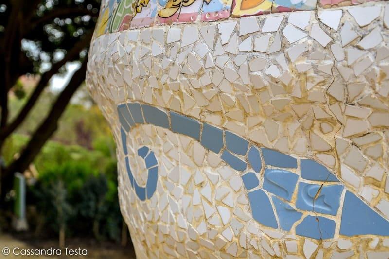Decorazione Parco Güell, Barcellona