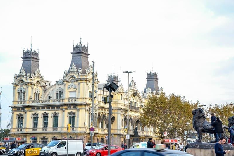 Fine de La Rambla, Barcellona