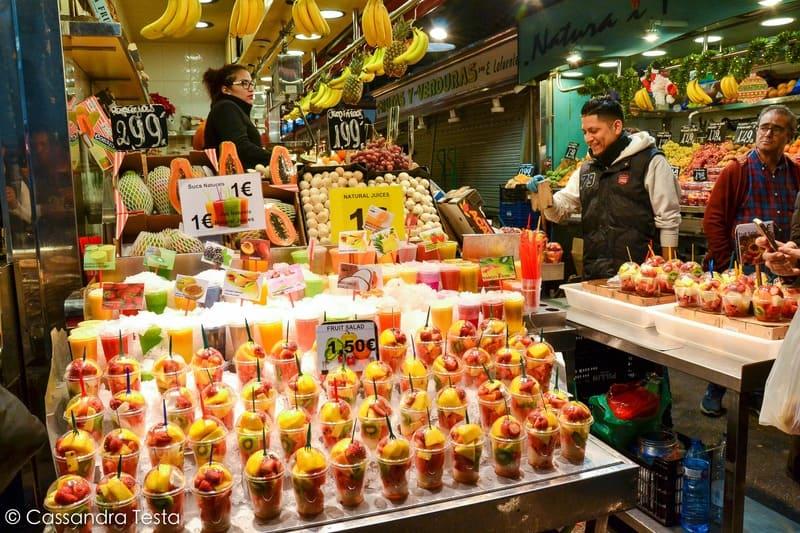 Frutta, La Bocqueria - Barcellona