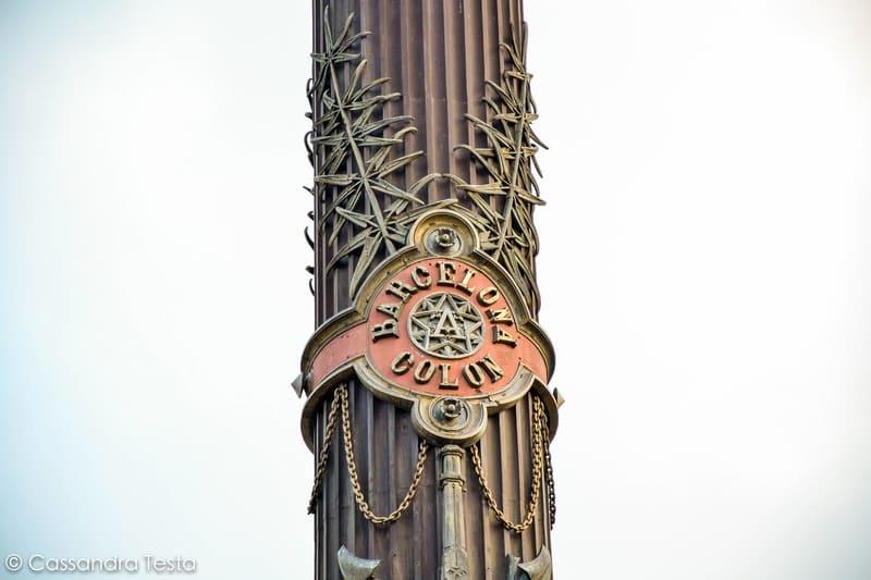Simbolo Mirador de Colón, Barcellona