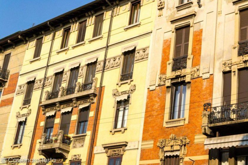 Edifici Liberty in Via Pisacane, Milano