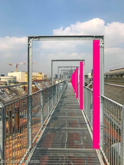 Passerella di Highline Galleria Milano