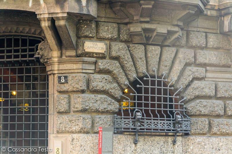 Via Cappuccini, Milano