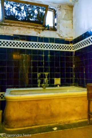 Un bagno dell'Albergo Diurno
