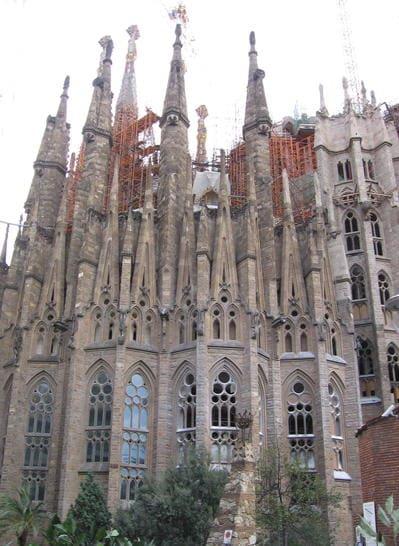 Abside della Sagrada Familia