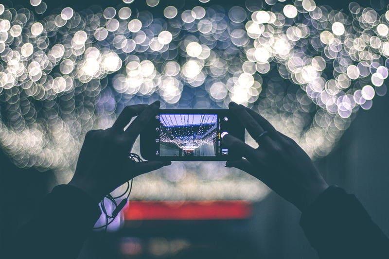 Fotografare un paesaggio e postarlo subito, nessun problema!