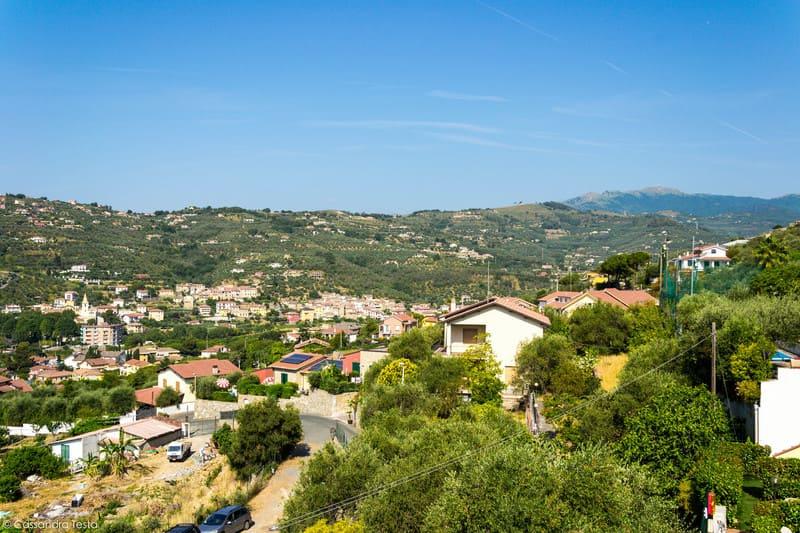 Panorama dal Villa Giada Resort