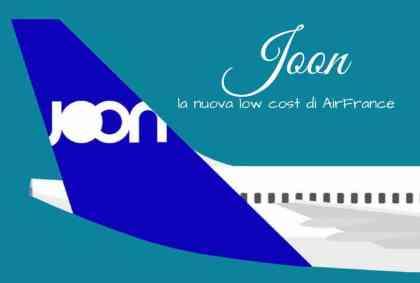Joon, la nuova low cost di AirFrance