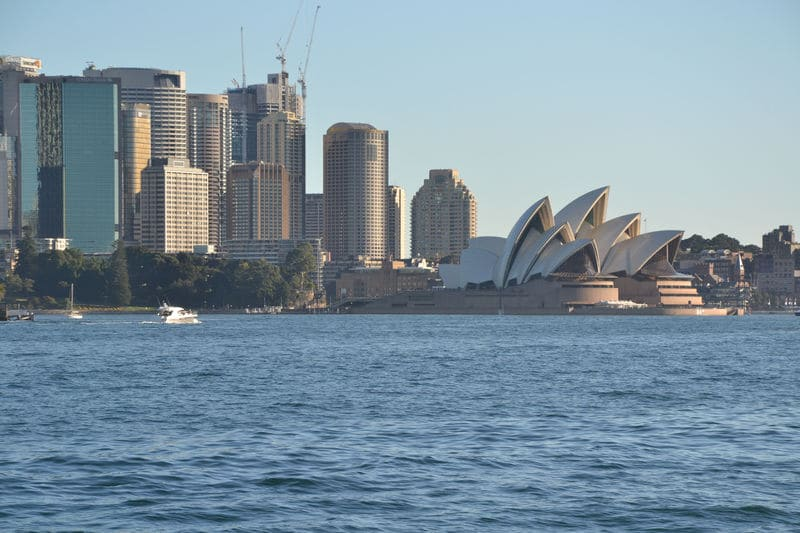 Opera House by Ferry