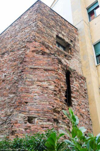 Torre romana, Milano