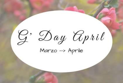 G' Day April