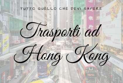 Trasporti ad Hong Kong