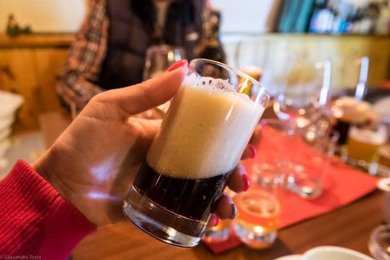 Beer Tasting, Haus Alpenblick