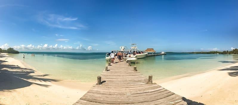 La spiaggia di Isla Contoy