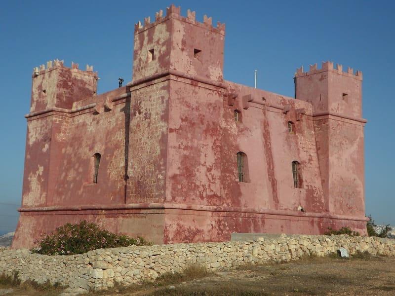 Torre Rossa, Malta
