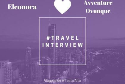 Travel Interview Eleonora
