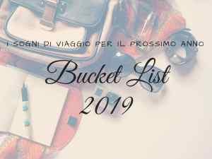 Bucket List 2019