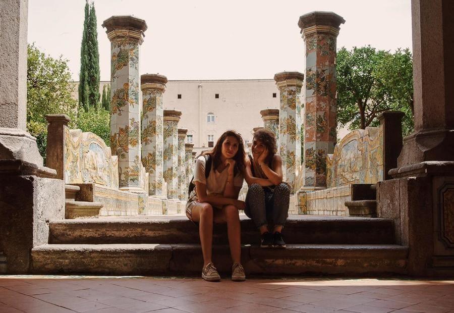 Elisa ed Alessandra a Napoli