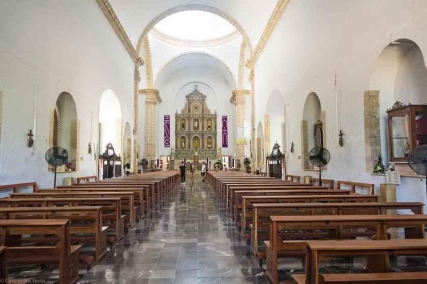 Interno Chiesa di San Gervasio, Valladolid