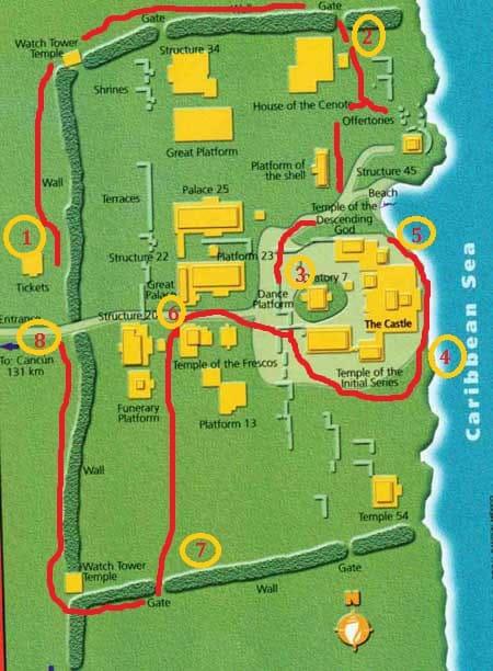 Mappa Tulum