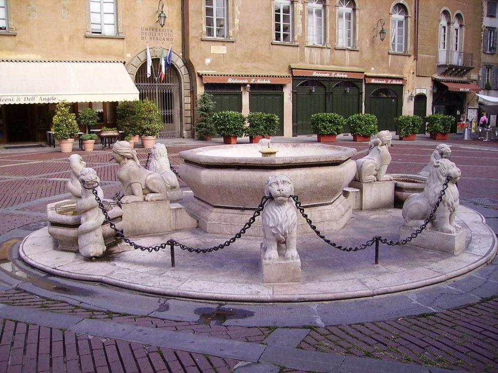 Fontana Contarini, Bergamo