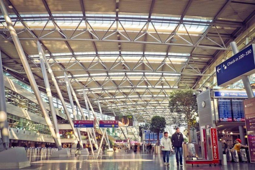 Interno aeroporto