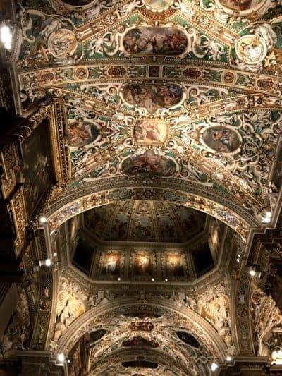 Soffitto Basilica di Santa Maria Maggiore