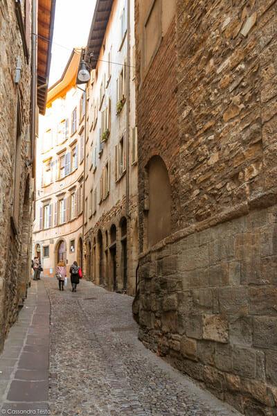 Via per la Rocca, Bergamo