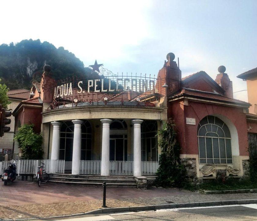 Acqua San Pellegrino edificio fonte storica