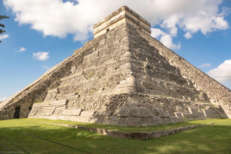 Dettaglio El Castillo, Chichen Itzà