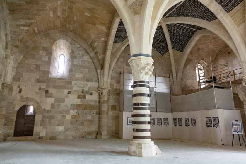 Interno Castel Maniace