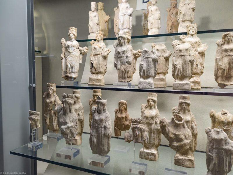 Reperti Museo Paolo Orsi