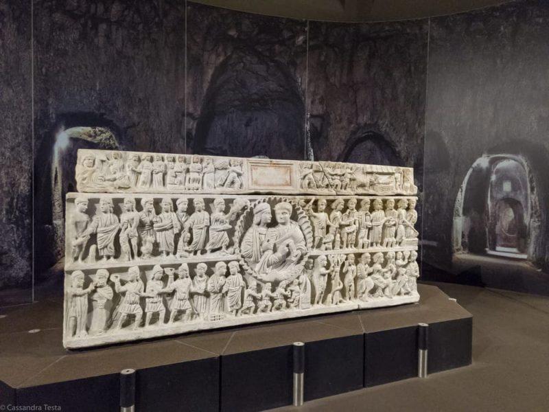 Sarcofago Museo Paolo Orsi