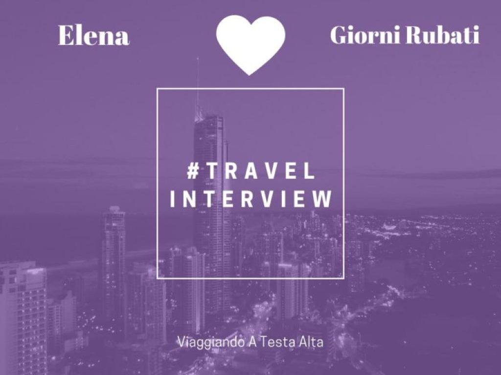 Travel Interview Elena