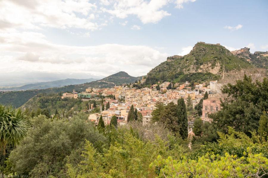 Vista di Taormina dal Teatro