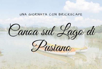 Canoa sul Lago di Pusiano: una giornata con Brickscape
