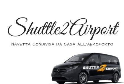 Shuttle2Airport, navetta condivisa da casa all'aeroporto