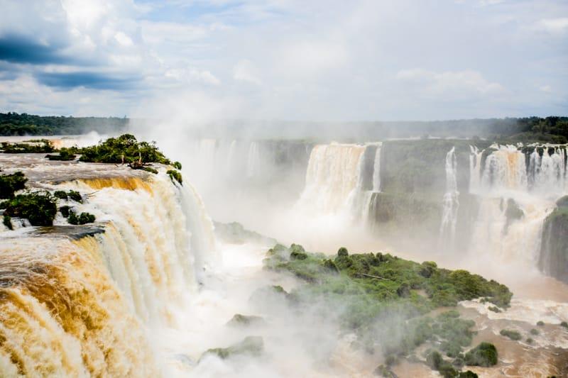Viaggio in Argentina  Iguazu le cascate di mezzo tra Argentina e Brasile