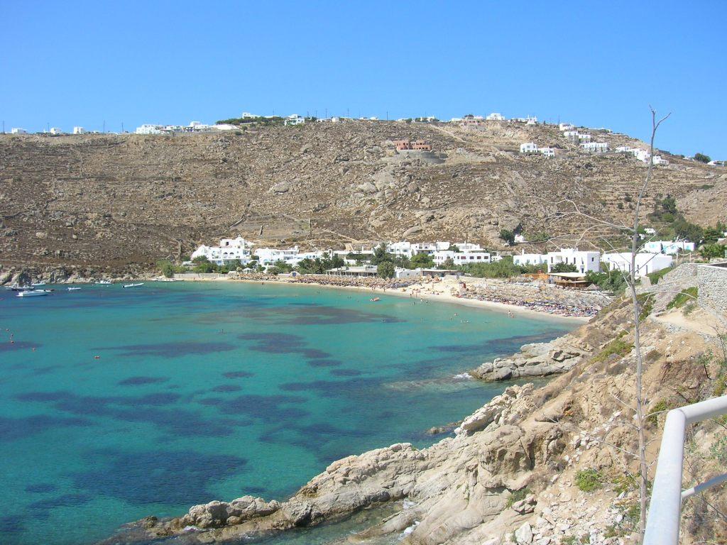 psarau beach mykonos