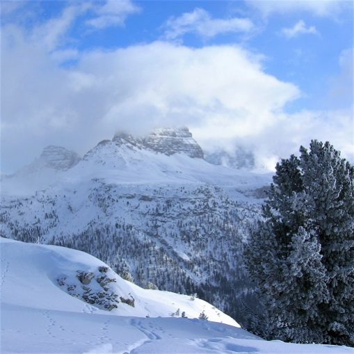 Escursione alle tre Cime di Lavaredo in inverno