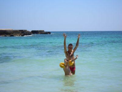 spiaggia lido burrone favignana