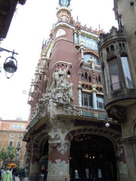 palau de la musica catalana barcellona